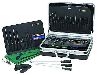 Bernstein Service-Set ESD//EGB mit 16 Werkzeugen 2300